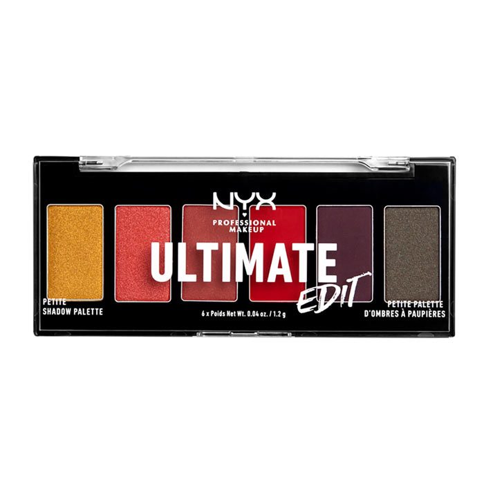 Swish NYX PROF. MAKEUP Ultimate Shadow Palette Petite Edition -  Warm Neutrals