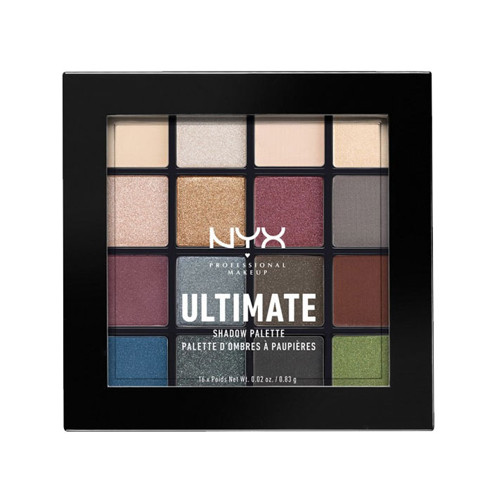 NYX PROF. MAKEUP Ultimate Shadow Palette - Smokey & Highlight