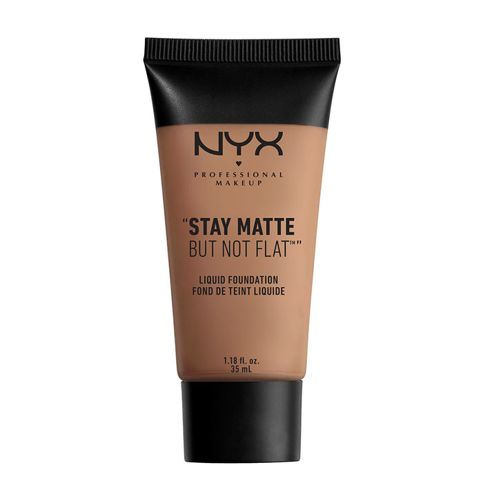 NYX PROF. MAKEUP Stay Matte Not Flat Liquid Foundation - Chestnut