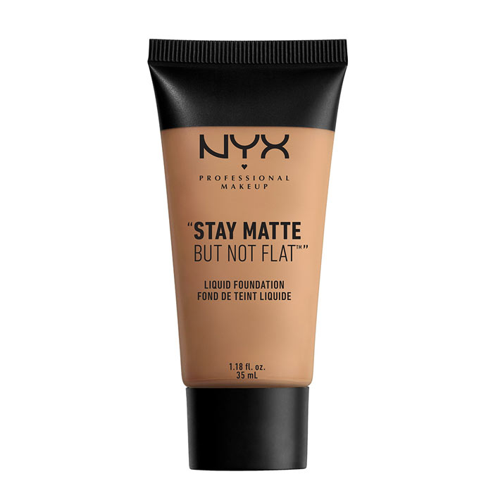 NYX PROF. MAKEUP Stay Matte Not Flat Liquid Foundation - Cinnamon