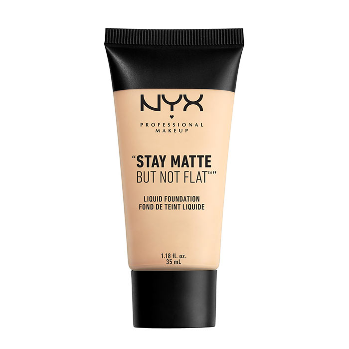 NYX PROF. MAKEUP Stay Matte Not Flat Liquid Foundation - Ivory