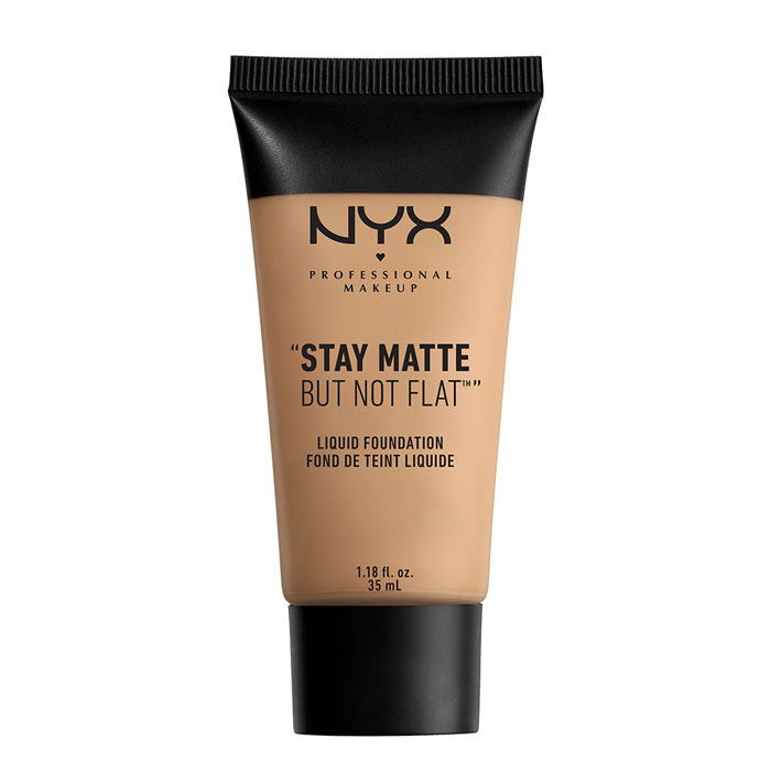 NYX PROF. MAKEUP Stay Matte Not Flat Liquid Foundation - Medium Beige