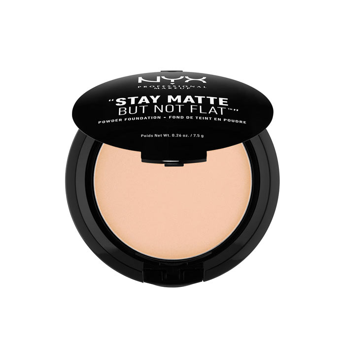 NYX PROF. MAKEUP Stay Matte Not Flat Powder Foundation - Natural