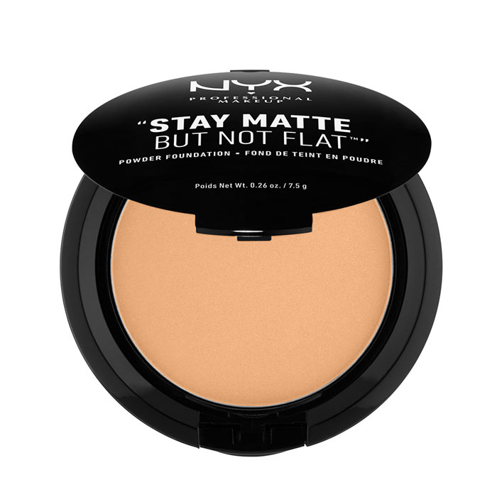 NYX PROF. MAKEUP Stay Matte Not Flat Powder Foundation - Soft Beige