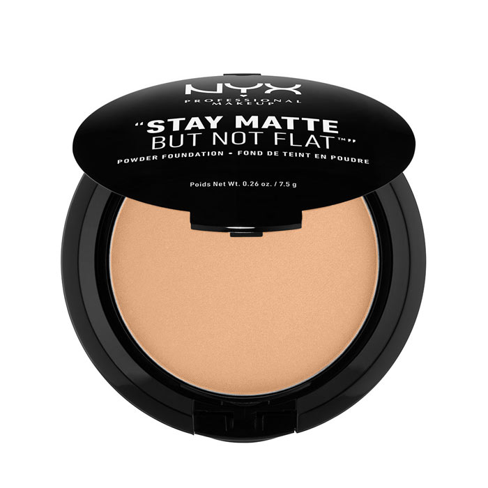 NYX PROF. MAKEUP Stay Matte Not Flat Powder Foundation - Tan