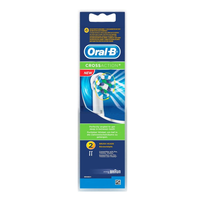 Oral-B Cross Action 2 Brush Head