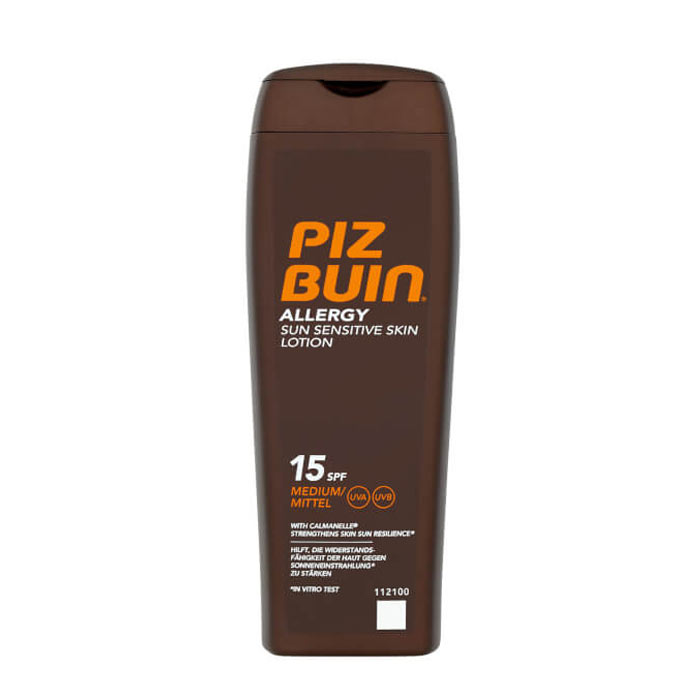Piz Buin Allergy Sun Sensitive Skin Lotion SPF 15 200ml