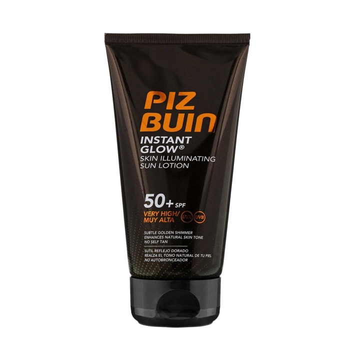 Piz Buin Instant Glow Skin Illuminating Sun Lotion SPF50+ 150ml