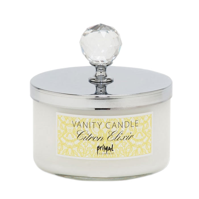 Primal Elements Vanity Candle Citron Elexir