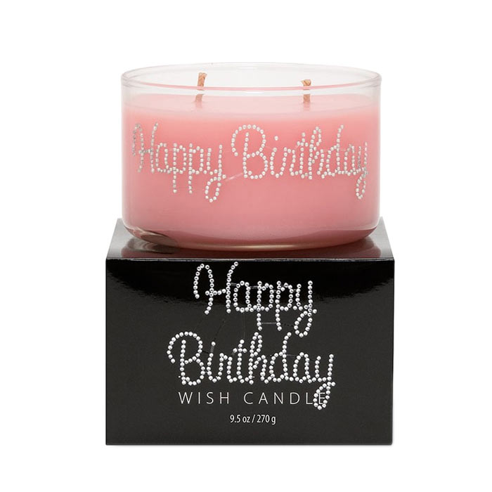 Primal Elements Wish Candle Happy Birthday