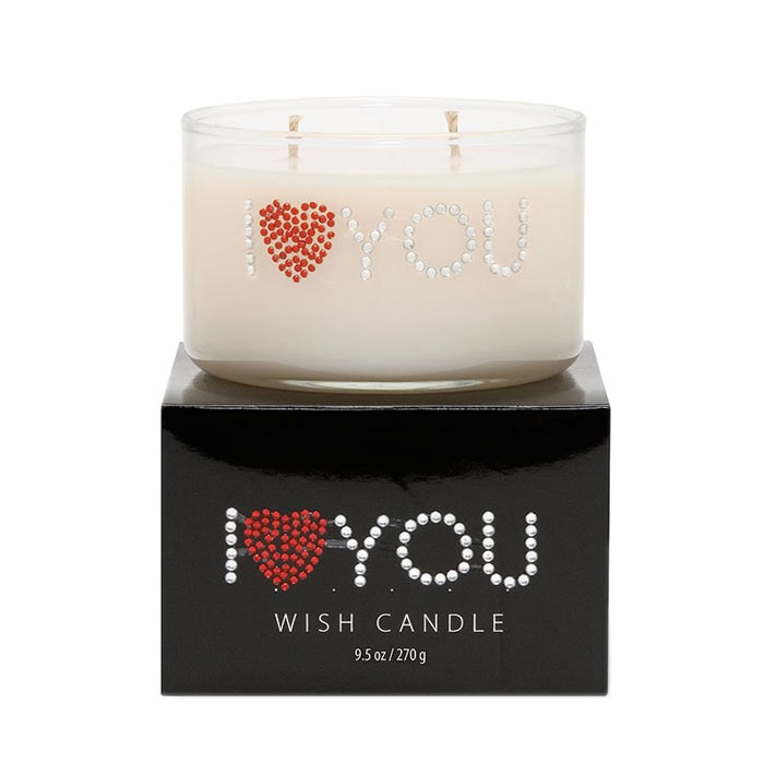 Primal Elements Wish Candle I Heart You