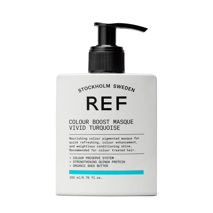 REF Colour Boost Masque Vivid Turquoise 200ml
