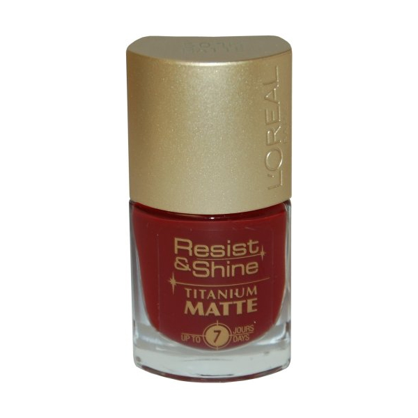 Resist & Shine Titanium Nail Polish 9ml #501M