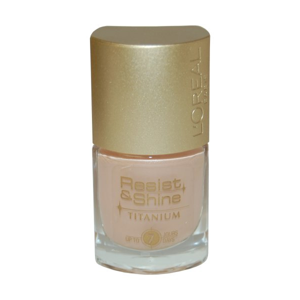 Resist & Shine Titanium Nail Polish 9ml Milky Beige #301