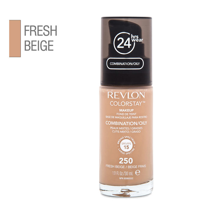 Revlon Colorstay Makeup Combination Oily Skin - 250 Fresh Beige 30ml