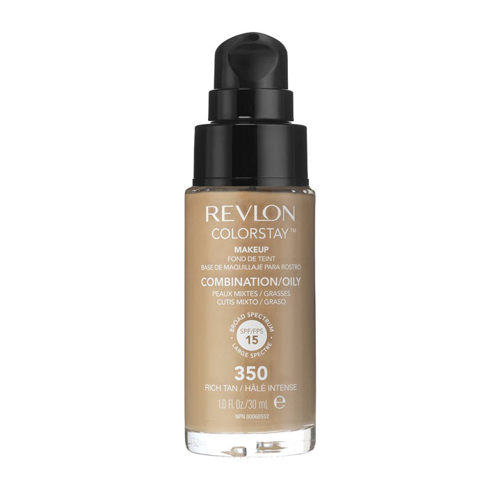 Revlon Colorstay Makeup Combination Oily Skin - 350 Rich Tan 30ml