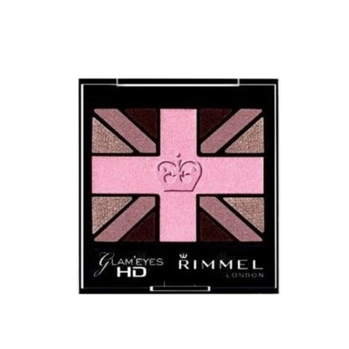 Rimmel Glam Eyes HD Quad Eye Shadow 005 English Rose