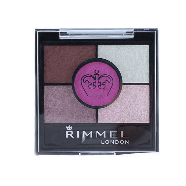Rimmel Glam Eyes HD Quad Eye Shadow 024 Pinkadilly Circus 3,8g