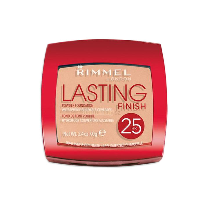 Rimmel Lasting Finish 25h Powder Foundation 001 Light Porcelain 7g