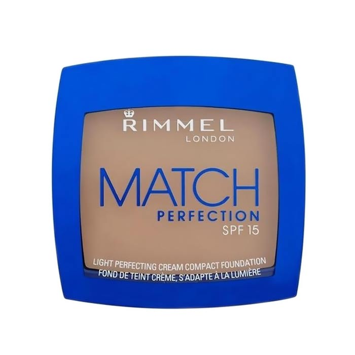 Rimmel Match Perfection Compact Foundation SPF15 010 Light Porcelain 7g