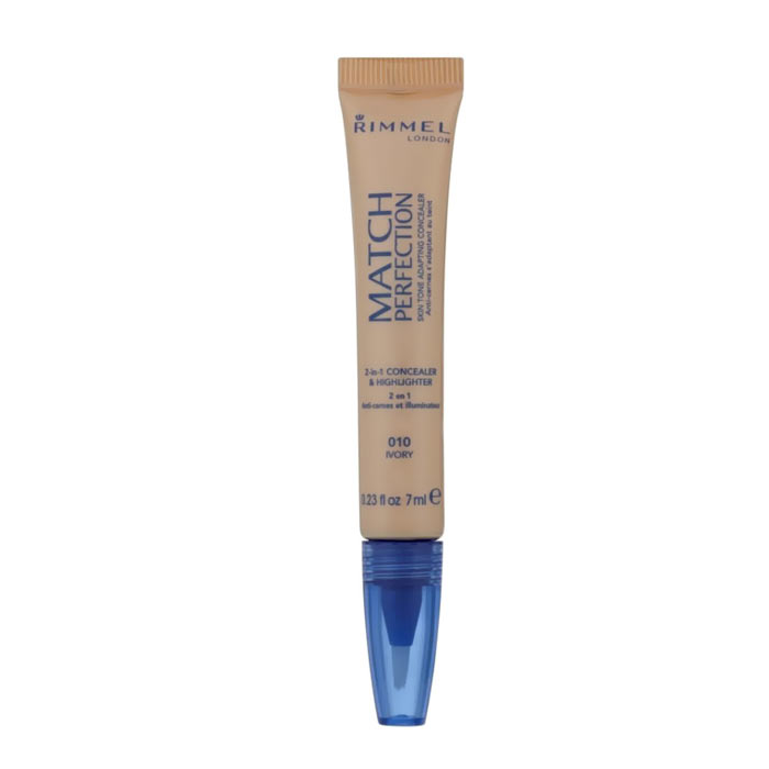 Rimmel Match Perfection Illuminating Concealer 010 Ivory 7ml