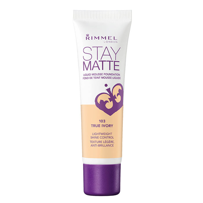 Rimmel Stay Matte Foundation 103 True Ivory 30ml