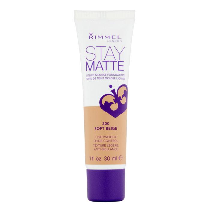 Rimmel Stay Matte Foundation 200 Soft Beige 30ml