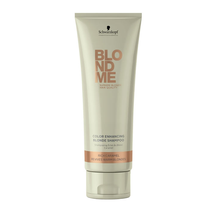 Schwarzkopf Blond Me Color Enhancing Blonde Rich Caramel Shampoo 250ml