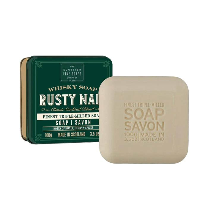 Scottish Fine Soaps Soap Bar Rusty Nail 100g