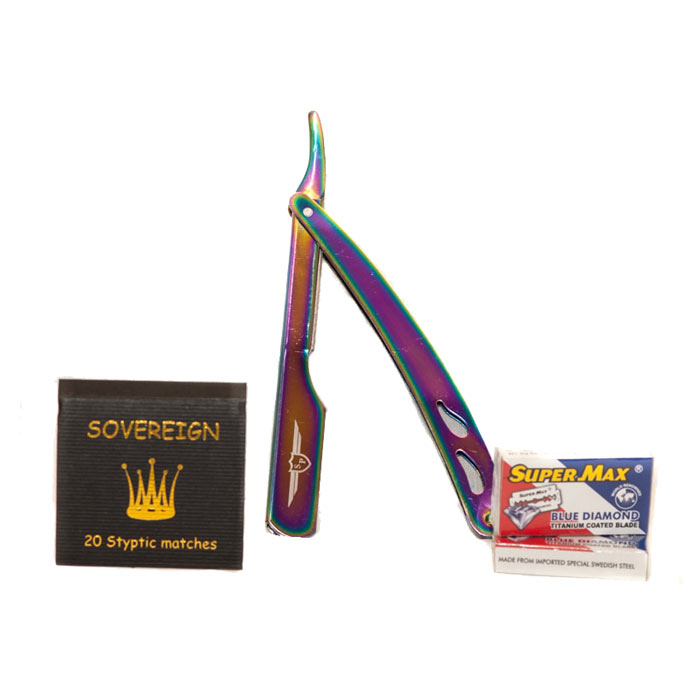 Sovereign Deluxe Gift Set Rainbow Steel Slider
