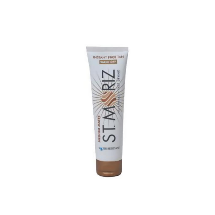 St Moriz Instant Face Tan Wash Off Medium 100ml