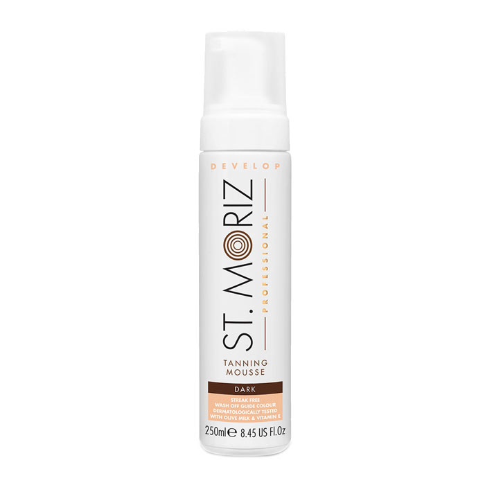 St Moriz Professional Dark Mousse 200ml