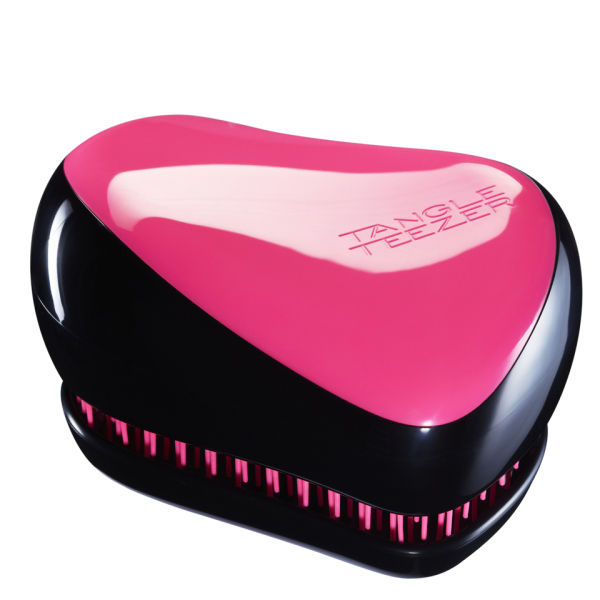 Tangle Teezer Compact Styler Black Pink