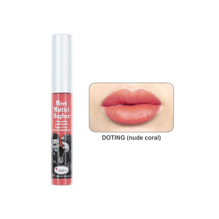 theBalm Meet Matt(e) Hughes Lipstick Doting 7.4ml