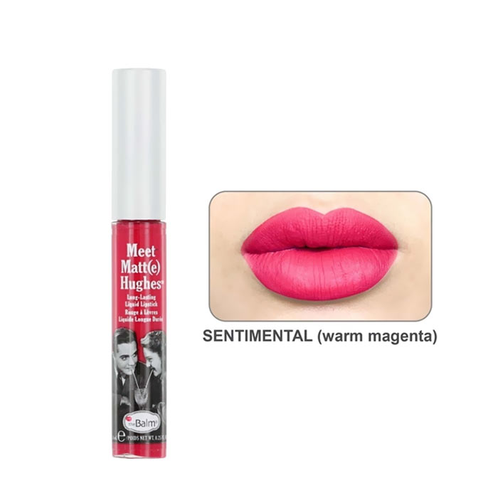 theBalm Meet Matt(e) Hughes Lipstick Sentimental 7.4ml