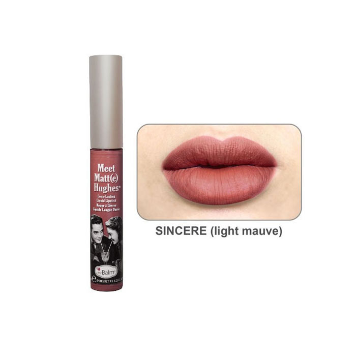 theBalm Meet Matt(e) Hughes Lipstick Sincere 7.4ml
