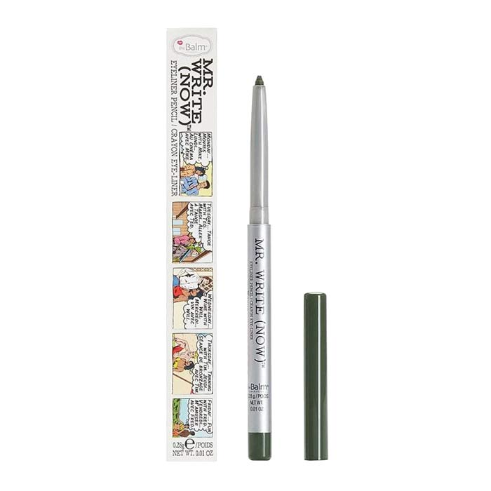theBalm Mr Write Now Eyeliner Wayne Olive 0,28g