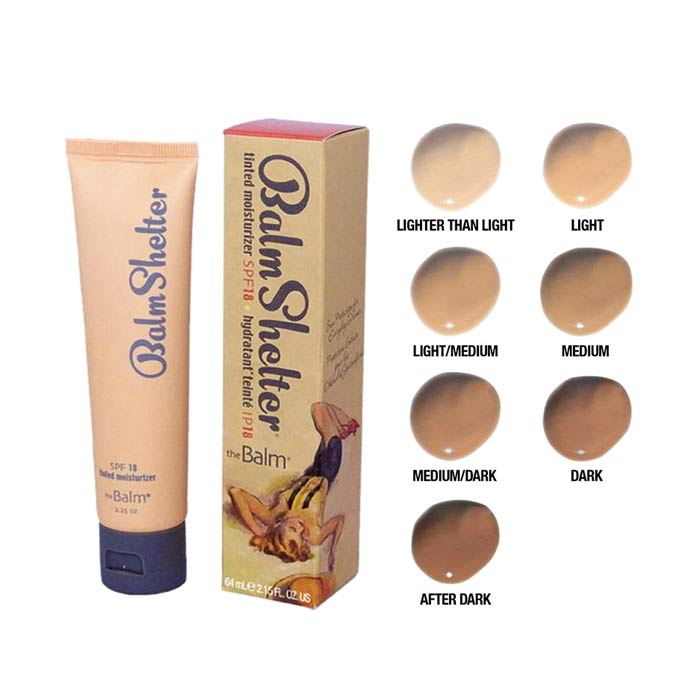 theBalm Tinted Moisturizer SPF18 after dark 64ml