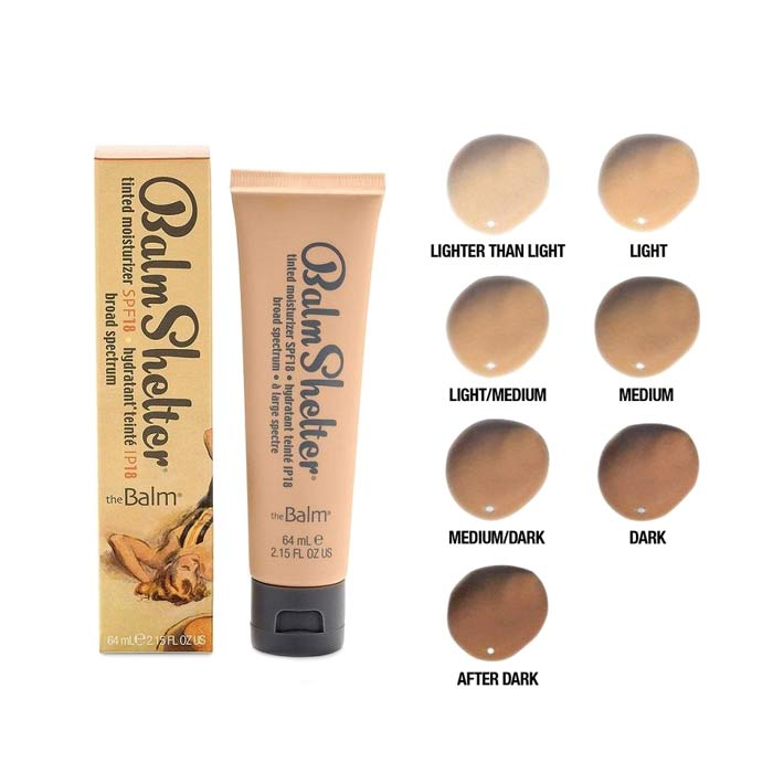 theBalm Tinted Moisturizer SPF18 lighter than light 64ml