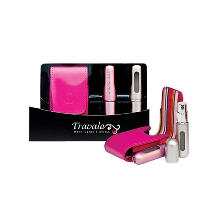 Travalo Classic Set Pink + Silver