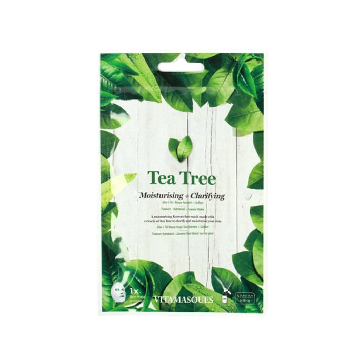 Vitamasques Tea Tree (1 pc) Moisturising + Clarifying