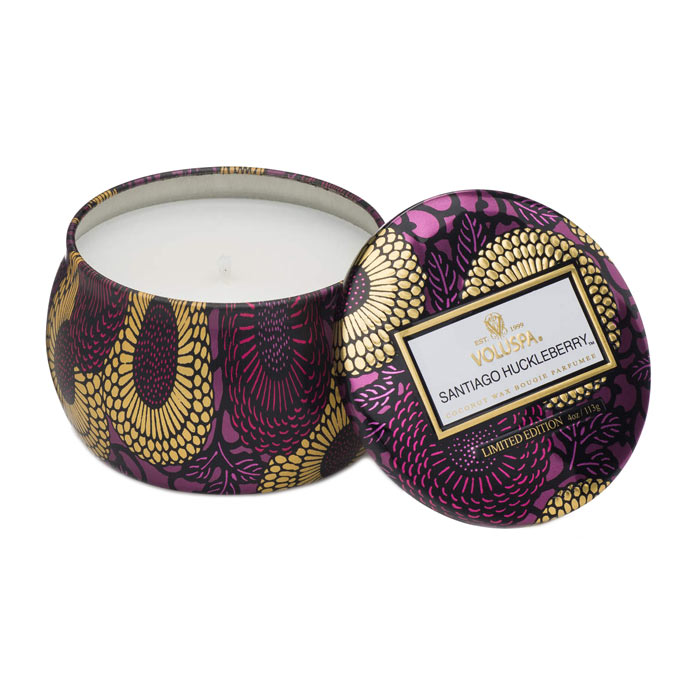 Swish Voluspa Mini Decorative Tin Candle Spiced Pumpkin Latte 113g