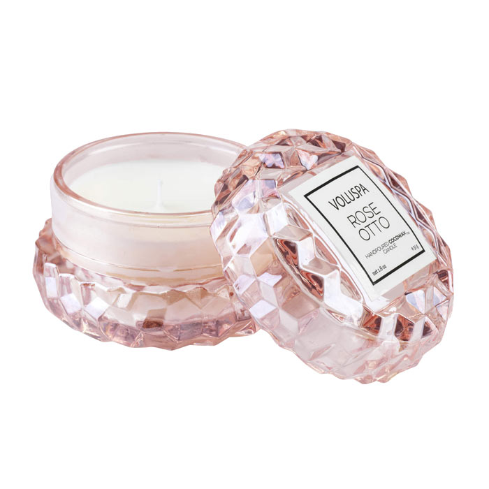 Voluspa Roses Macaron Candle Rose Otto 51g