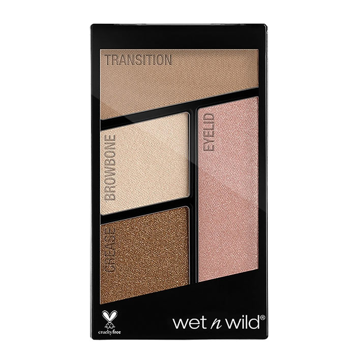 Wet and Wild Color Icon Eyeshadow Quads Walking on Eggshells