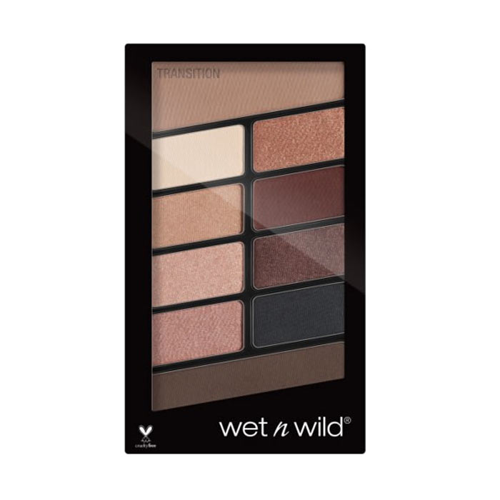 Wet n Wild Color Icon 10-Pan Eyeshadow Palette Nude Awakening