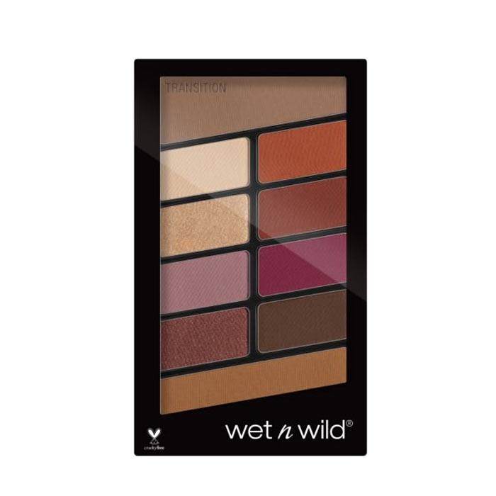 Wet n Wild Color Icon 10-Pan Eyeshadow Palette Rosé in the Air