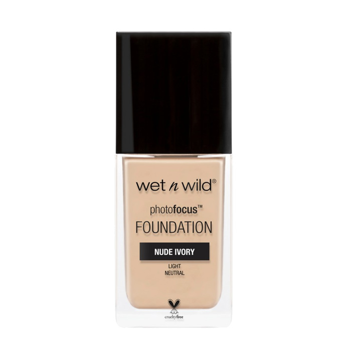 Wet n Wild Photo Focus Foundation Nude Ivory 30ml