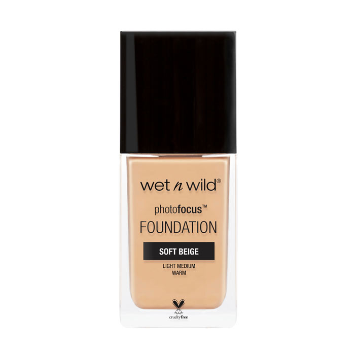 Wet n Wild Photo Focus Foundation Soft Beige 30ml