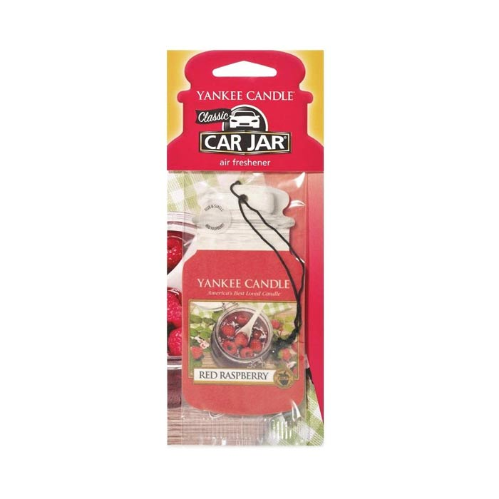 Swish Yankee Candle Car Jar Air Freshener New Car Scent