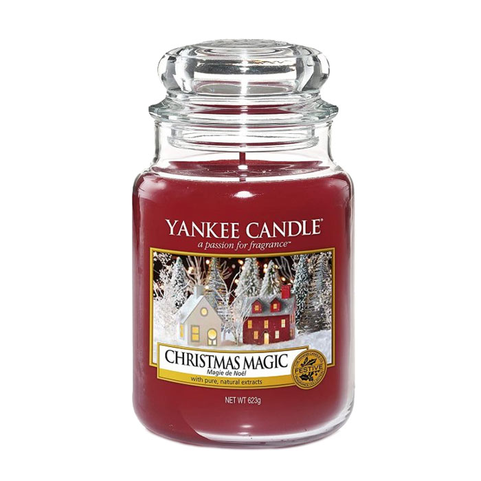 Swish Yankee Candle Classic Large Candlelit Cabin 623g